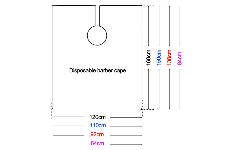 Disposable Plastic Capes