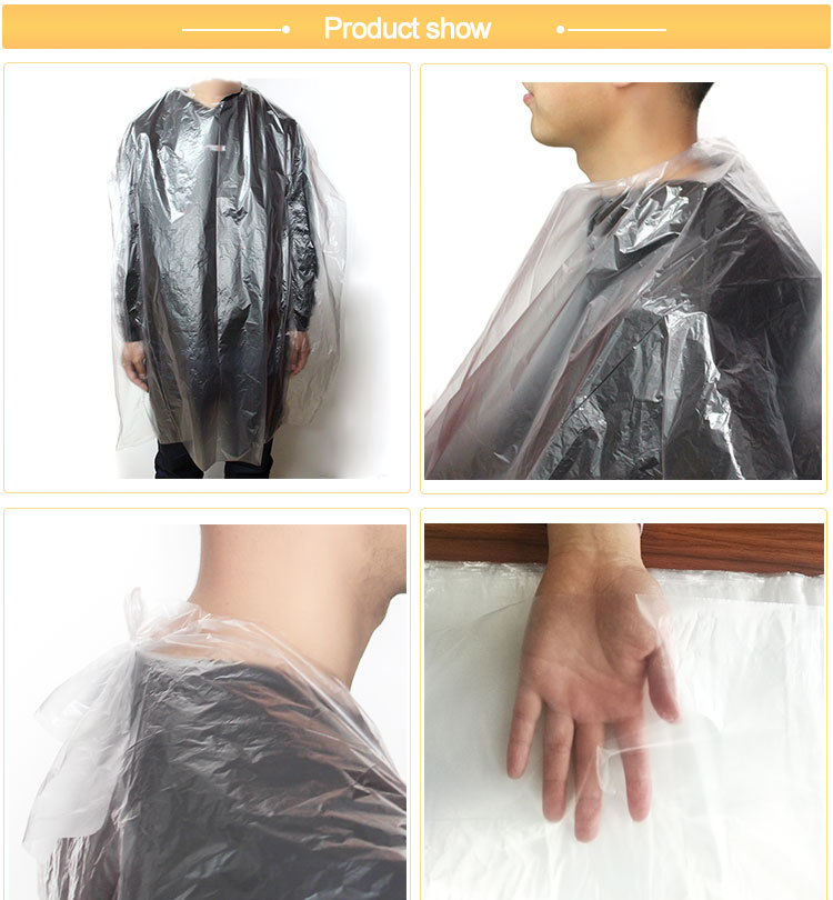 Disposable Haircutting Capes