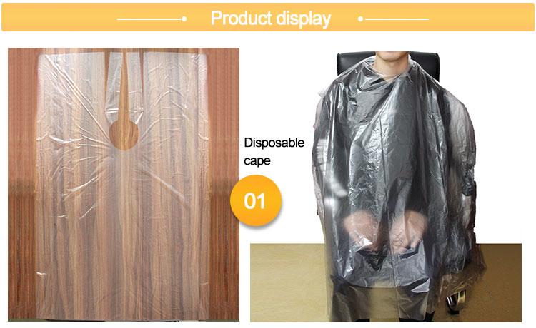 Disposable Shampoo Cape
