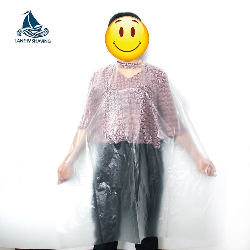 Disposable Plastic Hairdressing Capes